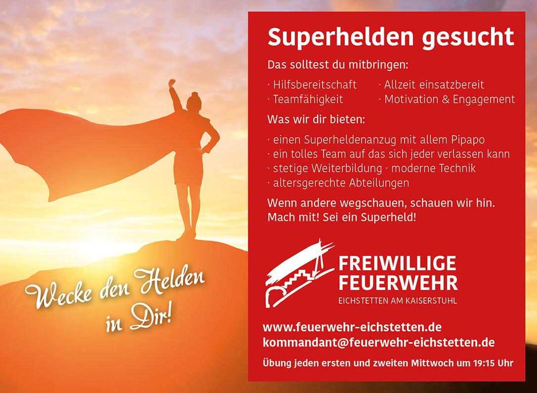 Superhelden gesucht